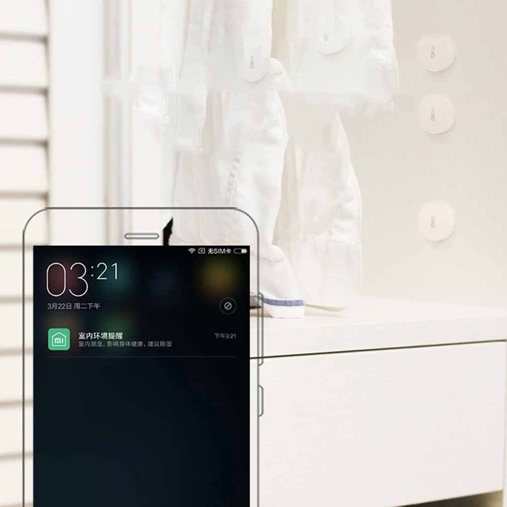 2020 Xiaomi Mijia Suhu Kelembaban Sensor Cerdas Smart Lingkungan Sensor Kontrol Melalui Mihome Aplikasi ZigBee Koneksi
