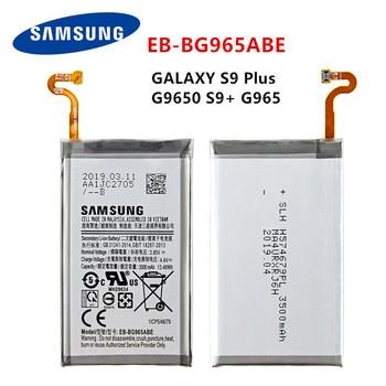 SAMSUNG Orginal EB-BG965ABE 3500mAh battery For Samsung Galaxy S9 Plus SM-G965F G965F/DS G965U G965W G9650 S9+ смартфон samsung galaxy s9 sm g965f 64gb бургунди