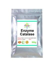 50-1000g catalase (chat) préparation enzymatique comestible de qualité alimentaire hydrogénase antioxydant