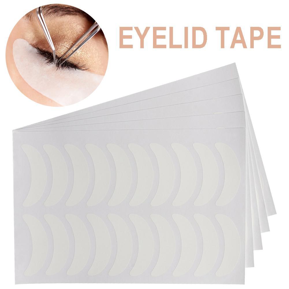 100pcs/set Eyelashes Stickers Eye Patches Grafting Tools Eyelash Extension Supplies Under Eye Pads Eyelash Wrap Film Makeup Tool