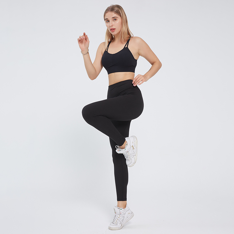 SVOKOR  Fitness Leggings Sexy Solid Leggings Women Push Up High Waist Workout Pants Gym Clothes Seamless Elasticity