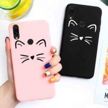 Candy Case For Xiaomi Mi A1 A2 Lite Case Silicone for Xiaomi Mi8 Lite Mi9 SE CC9 CC9e Mi a3 Lite Mi Play Mix 2S 2 Cute Cat Cover denon avr x1200w