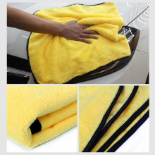 2020 cuidados com o carro toalhas de lavagem de polimento de microfibra de pelúcia toalha de secagem de lavagem forte grosso de fibra de poliéster pano de limpeza de carro