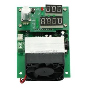 Image 4 - 60 واط 30 فولت 0 ~ 9.99A ثابت الحالي الإلكترونية تحميل LCD شاشة ديجيتال تفريغ البطارية قدرة متر تستر مع مروحة بالوعة الحرارة