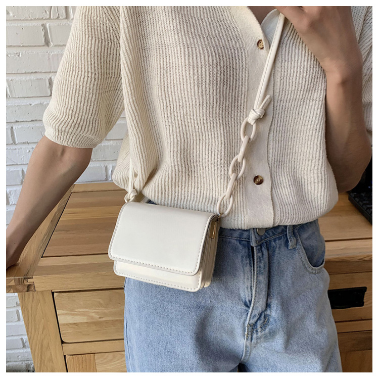 Five Colors Of SweetsRetro Mini Bags For 2020 Small Chain Handbag Small Bag PU Leather Hand Bag Ladies Shopping Bags (5)