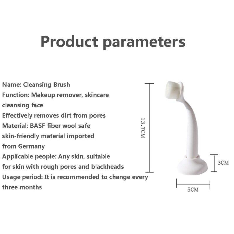 1 шт. силиконовые очищающее средство для лица кисти Портативный чистка лица Вибрационный Массажный, отшелушивающий угря кисточки