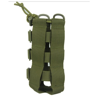 2020 New Tactical Molle Water Bottle Pouch Oxford Military Canteen Cover Holster Outdoor Travel Kettle Bag With Molle System 3