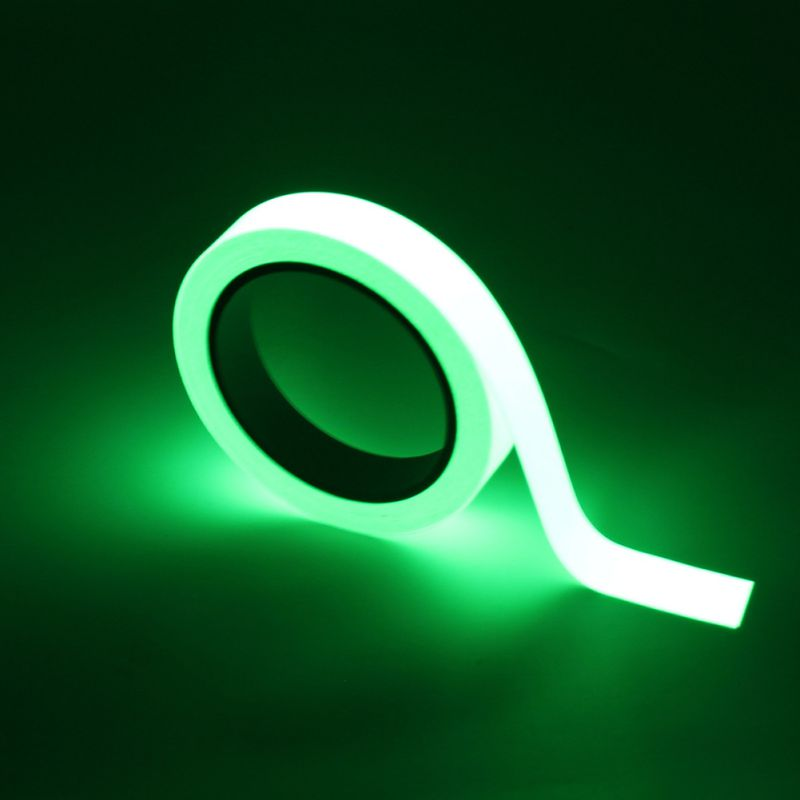 Self-adhesive Night Luminous Fluorescent Sticker Glow In The Dark Tape Self-adhesive Night Luminous Fluorescent Sticker