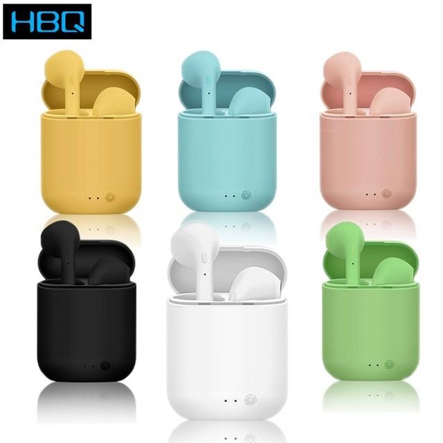 Mini-2 Tws Bluetooth 5.0 Headset Wireless Earphones With Mic Charging Box Mini Earbuds Sports Headphones For Smart Phone New i7s 1