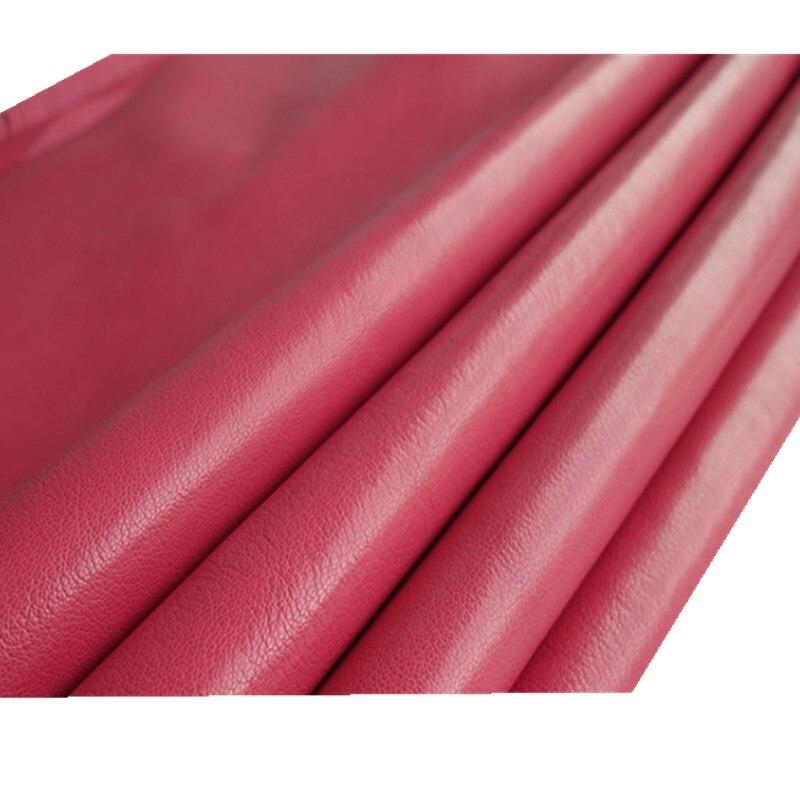 Табби красный овечий кожаный 1-1,4 мм ручной работы coyium мешок материал оболочки ткань