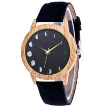 Planet Rise Down Luxury Fashion Denimr Strap Cheap Women Quartz Watch