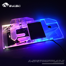 Full-Cover Water-Block Bykski Nitro Radeon RX5700XT Copper A-Rgb-Light Sapphire Use-For