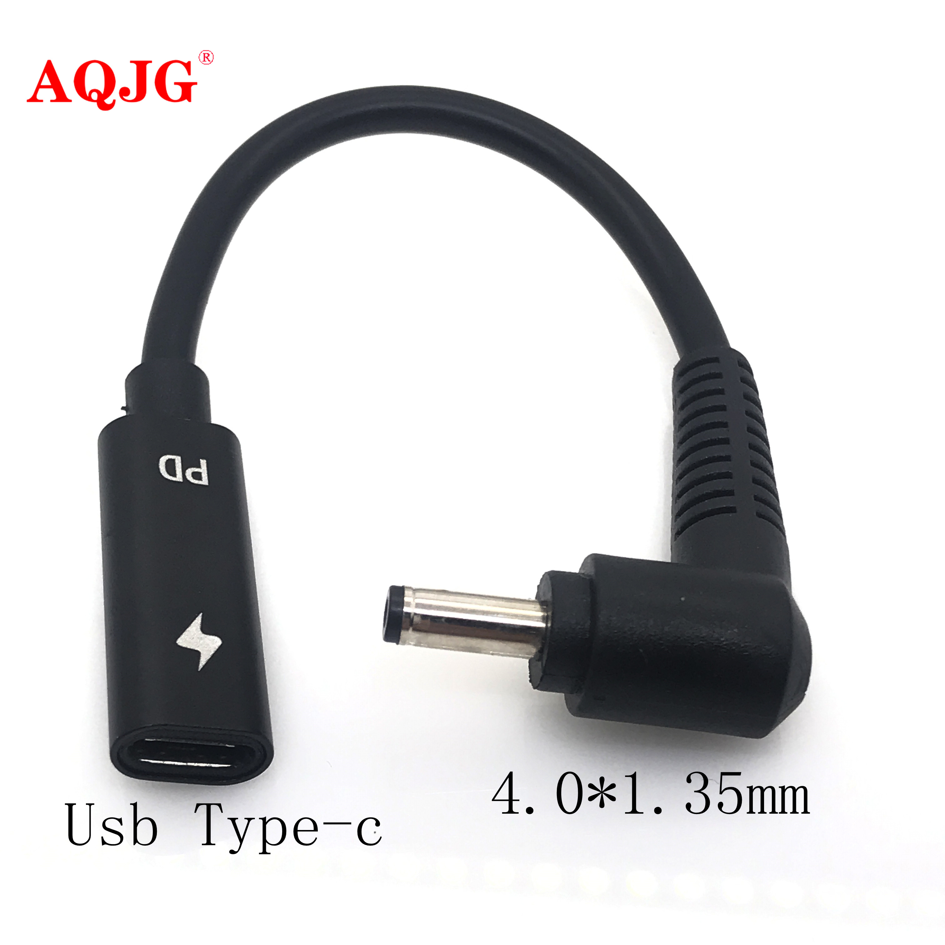 DC Power Adapter 4.0x1.35mm Male Plug To USB Type C Female Jack Connector With Cabe Cord For Asus Zenbook UX21A UX31A UX32A