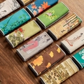 Gemalt Dicken Tee Handtuch Super Saugfähigen Tee Handtuch High-end-Tee-Set Zubehör Erhöhung Topf Handtuch Tee Tabelle Professionelle lappen