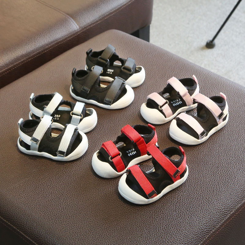Summer Leisure Sandals Baby Shoes Baby Soft Bottom 0-2 Years Old Toddler Shoes Children Shoes  Sandals  For Toddler Girls