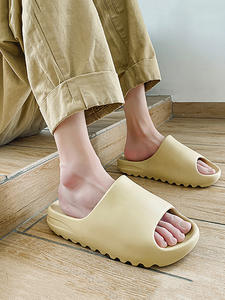 Merkmak Slippers Men Shoes Beach-Slides Casual Summer Fashion Eva Solid Injection New-Style