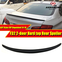 For BMW F32 Spoiler FRP Tail Wing Unpainted 4-Series 420i 428i 430i 435i 2-Door Hard Top AEP Style Rear 2014-18
