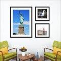 Деревянная фоторамка из плексигласа, с современными простыми рамками для фотографий, с сертификатом и лицензией, настенная живопись