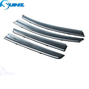 Image 2 - Side Winodow Deflectors For Chevrolet Spark 2010 2011 2012 2013 2014 2015 2016 2017 2018 Car Wind Deflector Sun Rain Guards SUNZ