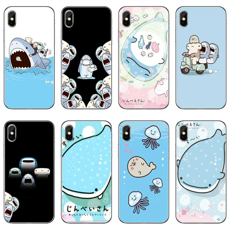 Accessori I Phon 5.Kawaii Samezu Shark Accessori Della Cassa Del Telefono Per Il Iphone 11 Pro Xs Max Xr X 8 7 6 6s Plus 5 5s Se 4 4s 4 Ipod Touch 5 6 Aliexpress