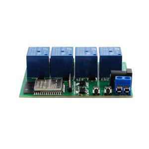Image 3 - ESP32 4 チャンネル wifi bluetooth リレーモジュール eu ce 電源、米国の ul アダプタ充電 ttl コンバータモジュールアンドロイド ios 用