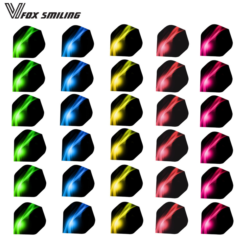 30PCS Cool Darts Flights Wing Dardos Feather Mixed Style For Professional Darts Wing Tail Outdoor Sports