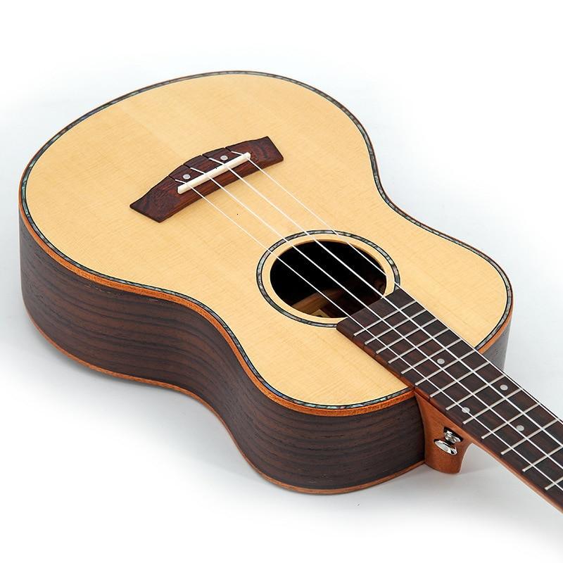26 pouces ukulélé direct en gros ukrainien lily petite guitare palissandre épicéa placage