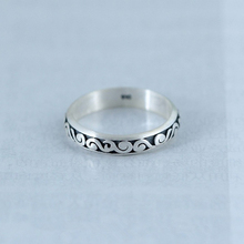 KOFSAC New 925 Sterling Silver Ring Female Vintage Chic Thai Auspicious Cloud For Women Engagement Accessories Hot