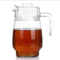Manufacturers Direct Selling Customizable Creative White Transparent Glass Pitcher Heat Resistant High Temperature Thick Glass P|Egg Boilers|   -
