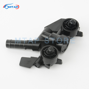 Image 3 - MTAP Headlight Cleaning Water Spray Jet For BMW 3 Series E46 1997 2006 318 320 323 325 328 330 M3 Front Headlamp Washer Nozzle