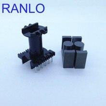 EC35 ER35 vertical 6+6pin transformer frame bobbin skeleton soft ferrite core N87 PC40