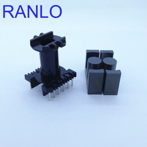 Image 1 - EC35 ER35 vertical 6+6pin transformer frame bobbin skeleton soft ferrite core N87 PC40