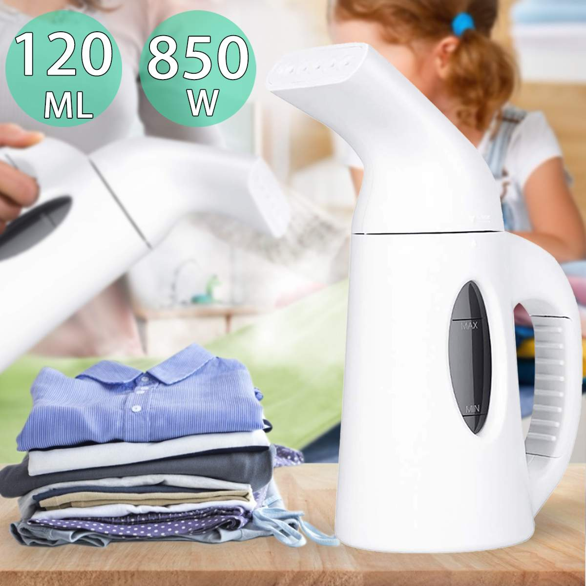 Clothes Steamer Portable Handheld Iron for Home Vertical Garment Steamers Steam Machine Ironing for Home Appliances for travel
