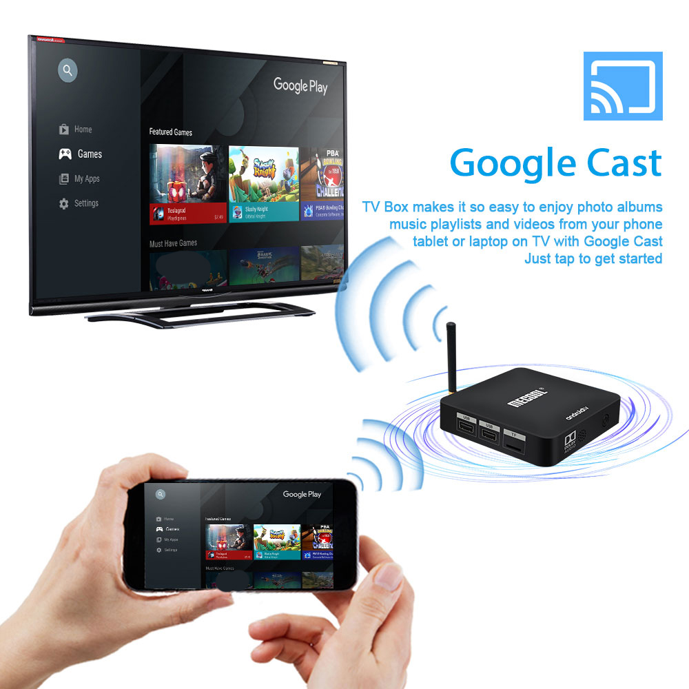 cheapest Mecool Amlogic S905X Android TV Box Quad core Smart 9 0 16GB 2 4G WiFi HD 4K KM8 ATV Google Certificate Widevine L1 Media Player
