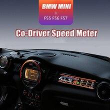 MINI Cooper F55 F56 F57 Hành Khách Màn Hình LCD Hiển Thị Bảng Điều Khiển Cơ Điều Khiển Tốc Độ Đồng Hồ Phụ Kiện Kỹ Thuật Số Bảng Điều Khiển Màn Hình