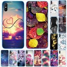 Bumper Back-Cover 9a-Case Funds Xiaomi Redmi Silicon Etui for Coque Fower Cat