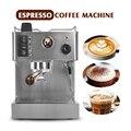 ITOP 1050 Вт Полуавтоматическая кофеварка для эспрессо 3 5л кофейная машина из нержавеющей стали полукоммерческая Итальянская Кофеварка