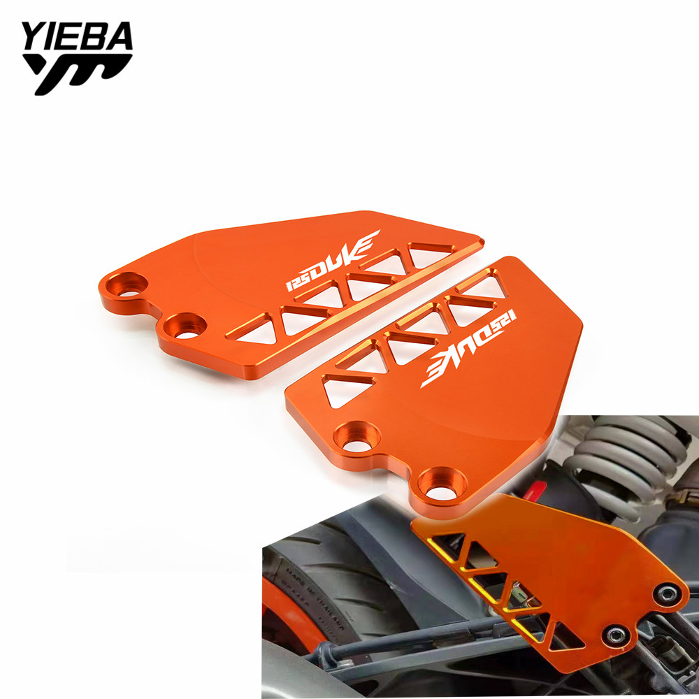 Motocycle Accessories Rear/Front Heel Protective Cover Guard Brake cylinder guard Protetion For KTM DUKE 125 duke 2017 2018 2019 image