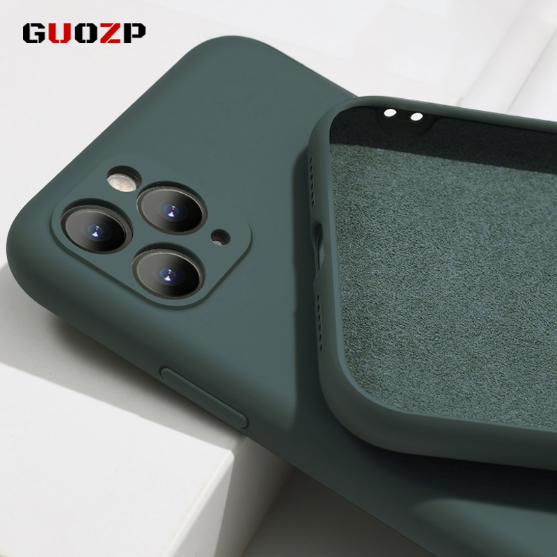 For iPhone X Xs 11 Pro Max XR,Soft Case,For iPhone 7 8 6 6s Plus Case Original Liquid Silicone Cover Candy Coque Capa