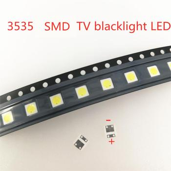 50PCS FOR LCD TV repair LG led TV backlight strip lights with light-emitting diode 3535 SMD LED beads 6V image