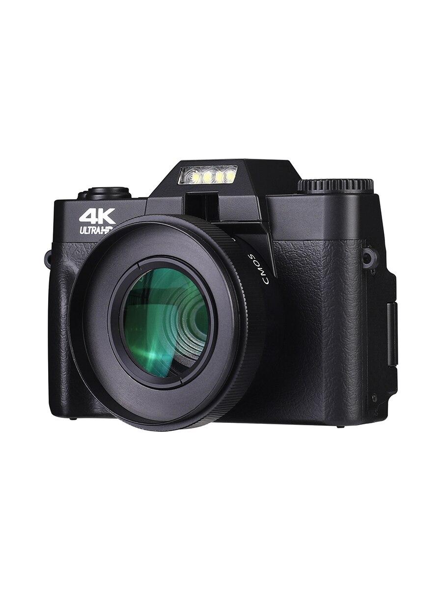 KOMERY Digital Camera 4K Camera 3.0 Inch LCD Flip Screen Video Camera 16X Digital Zoom HD Output Support WiFi Selfie Cam-5