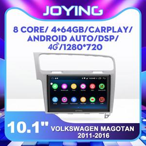 32G/64G Car Stereo IPS Bluetooth FM 1Din Car Radio For VW Volkswagen Golf 7 MK7 2013 2014 2015 2016 2017 Silver/Dark Grey GPS(China)