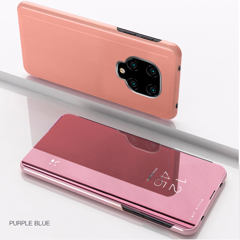For Xiaomi Redmi Note 9S Case Mirror Flip Protective Leather Cover for Xiaomi Redmi Note 9 Pro Max Phone Case Note9S Wallet 9 S