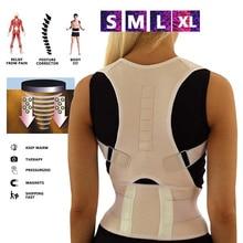 Back Posture Corrector Adjustable Shape Body Shoulder Brace Belt Men Women Verte