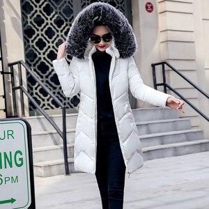Image 1 - 2019 décontracté クーペベント femmes vestes デベース manteaux chauds グランデタイユ 6XL vestes 爆撃機ファム