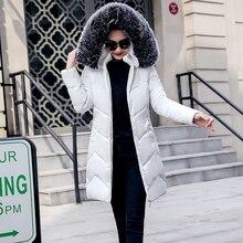 Veste dhiver pour femmes, manteau épais, porter neige, Parkas, 2019