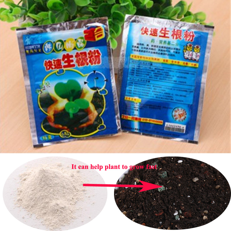 1pcs/Bag Extra Fast Abt Root Plant Fertilizer Rooting Hormone For Flowers Plants Powder Bonsai Plantas