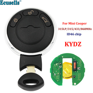 Smart Remote Key Keyless entry fob 3 Button 315LP 315mhz 433mhz 868MHz CAS System For BMW Mini Cooper 2006-2013 with KYDZ board(China)