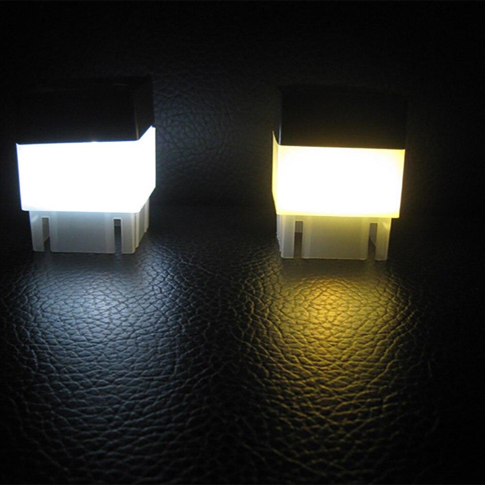 Modern Simple Square Solar Powered Pillar Light  Waterproof Outdoor Post Cap Light LED Quality Fence Pool Street Lamp#25