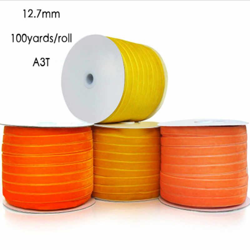 Velvet Ribbon Full 100 Yards Roll